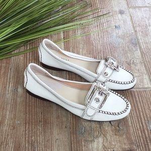 Nwot Franco sarto leather loafers Sz 7